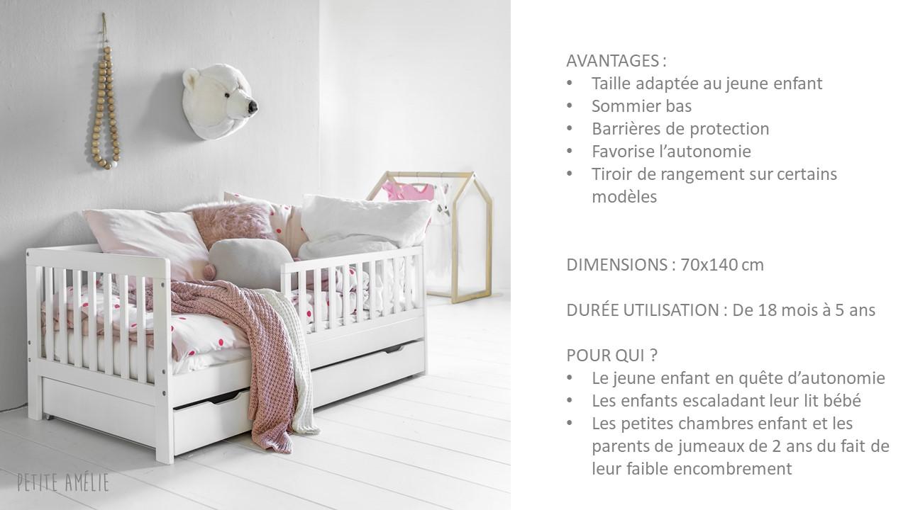 lit enfant 2 ans par Petite Amélie
