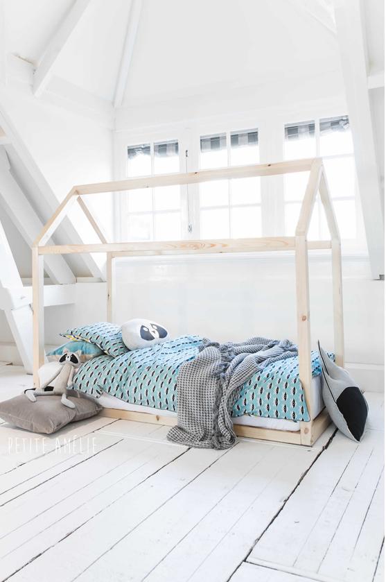 Découvrez le lit cabane Maison de Petite Amélie