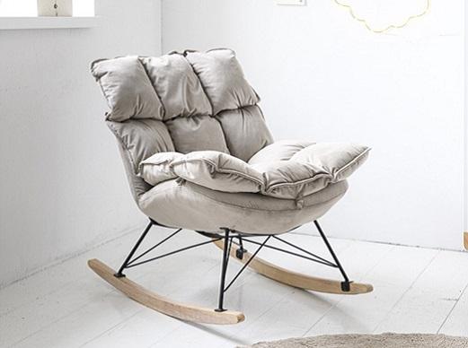 Rocking chair pour chambre bébé fauteuil allaitement Petite Amélie