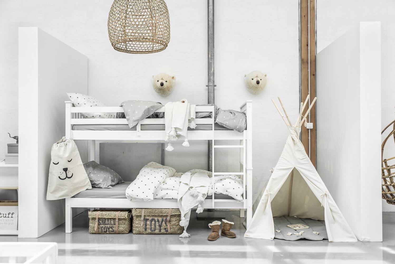 lits superposés blanc magasin paris