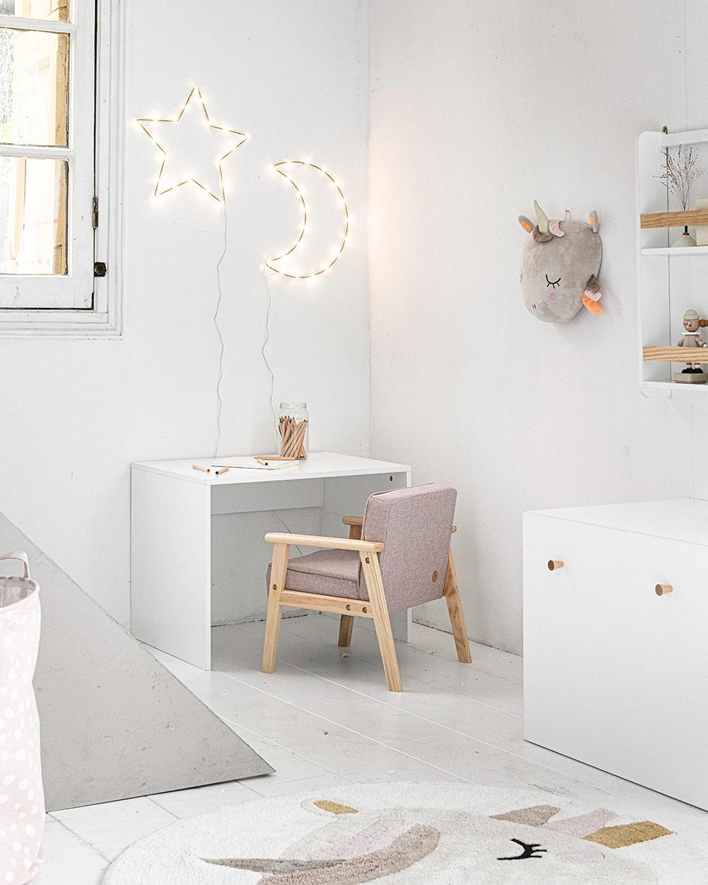 Décoration chambre enfant fille licorne rose par Petite Amelie