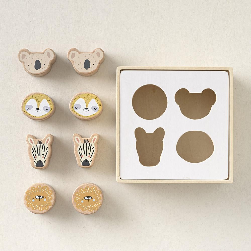 Jouet bois bébé boîte à formes en bois Petite Amélie