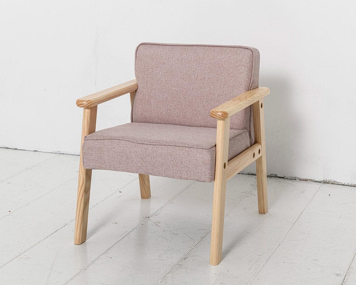 Petit fauteuil enfant rose petite amelie