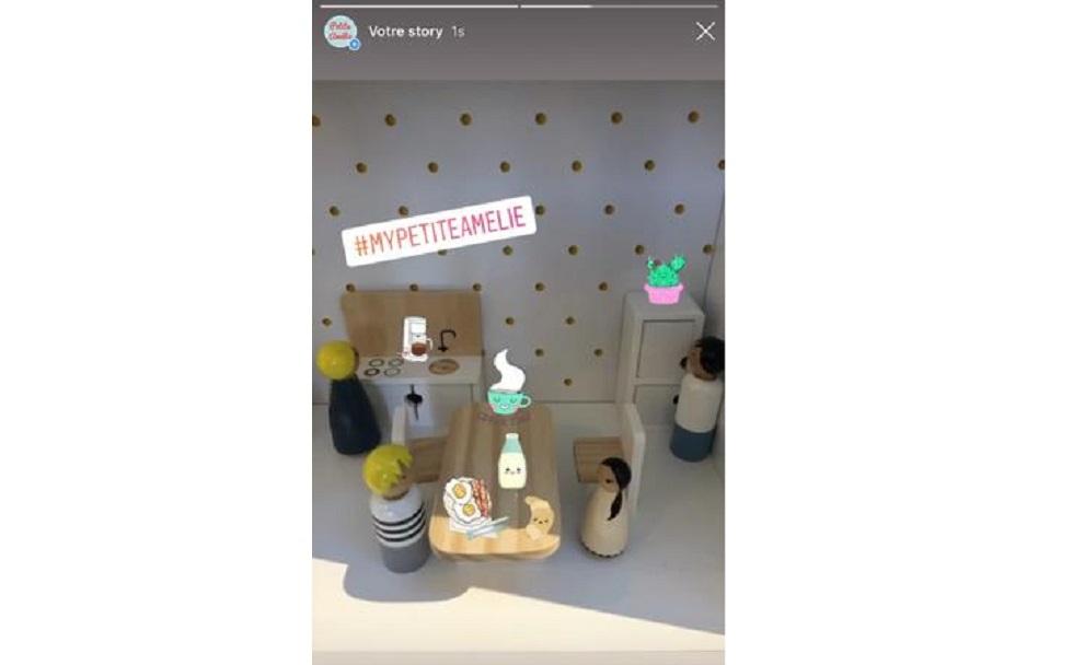 Partage une histoire avec maison Petite Amélie