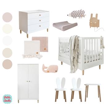 Créer votre chambre bébé avec Petite Amélie