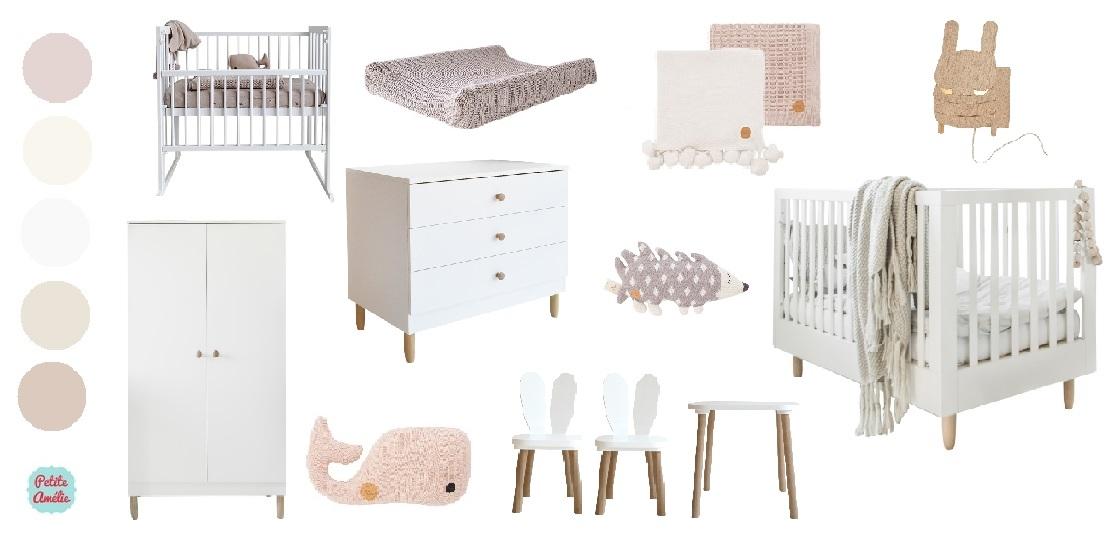 Créez votre chambre bébé avec Petite Amélie - Moodboard en ligne