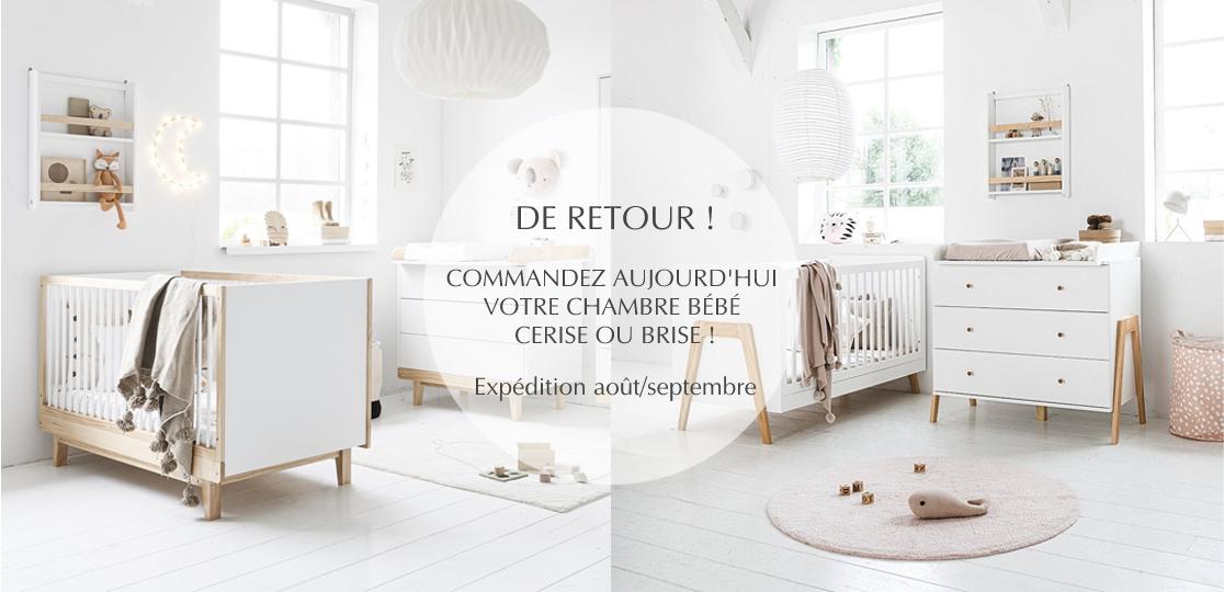Pré-commande : votre chambre bébé bois blanc CERISE ou BRISE par Petite Amélie