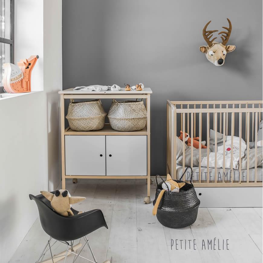 Babykamer Vintage van Petite Amélie | afgewerkt in natuurlijk beukenhout